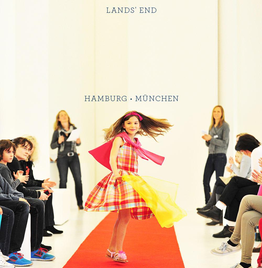 Lands' End - Kids Modenschau 2014