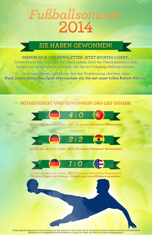 Lands' End - Fußballsommer 2014