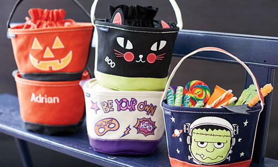 Halloweentaschen für Kinder