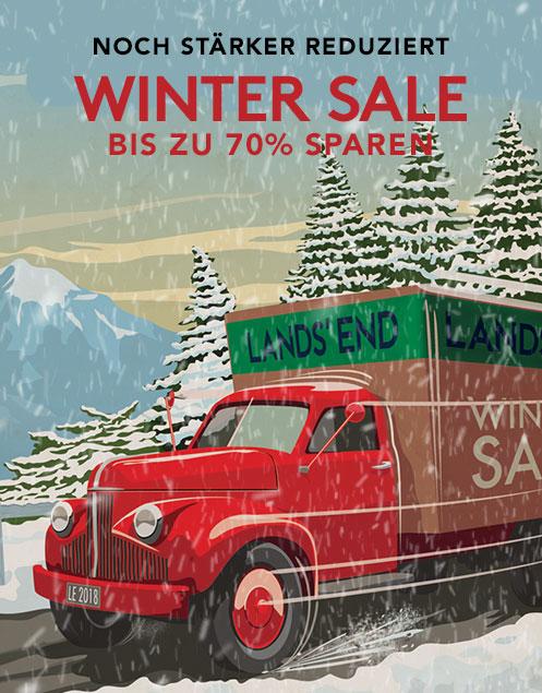 Wintersale: Bis zu 65% sparen